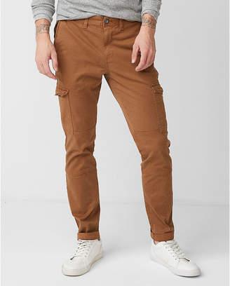 Express Skinny Stretch Garment Dyed Cargo Pant