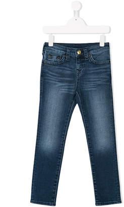 True Religion stonewashed jeans