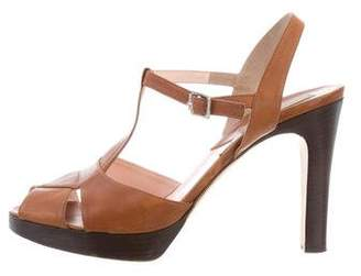 Michael Kors T-Strap Platform Sandals