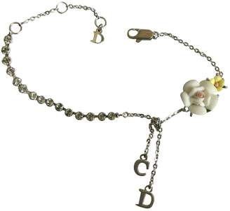 Christian Dior Silver Metal Bracelet