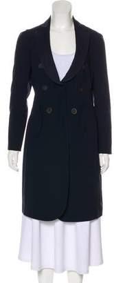 Brunello Cucinelli Virgin Wool Knee-Length Coat