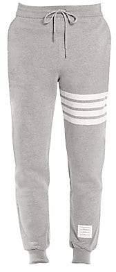 Thom Browne Men's Bar Striped Sweatpants