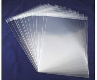 Craft UK C5 Poly Bags, Transparent, Pack of 50
