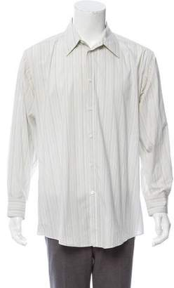 Versace Striped Dress Shirt