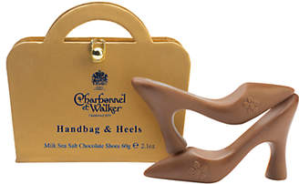 Charbonnel et Walker Milk Sea Salt Chocolate Shoes, 60g