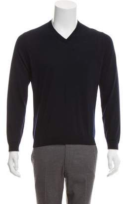 Brunello Cucinelli Cashmere & Silk V-Neck Sweater