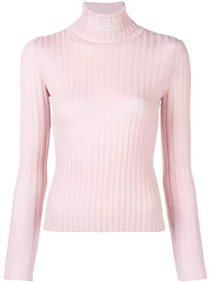 Emilio Pucci branded roll neck sweater
