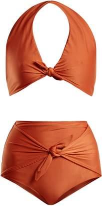 ADRIANA DEGREAS Riviera halterneck bikini