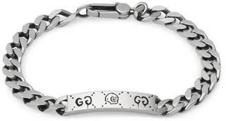 Gucci GucciGhost chain bracelet in silver