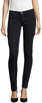 ARIZONA Arizona Luxe Stretch Twill Cargo Jeggings $48 thestylecure.com
