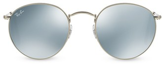 Ray-Ban Icons Mirrored Sunglasses, 51mm $175 thestylecure.com
