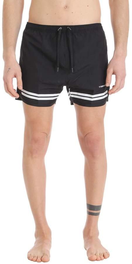 Black Nylon Swimwear
