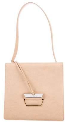 Loewe Textured Leather Flap Shoulder Bag
