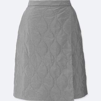 Uniqlo Women's Windproof Warm-lined Wrap Skirt
