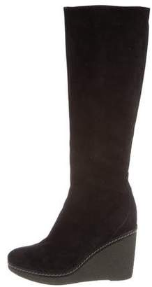 Castaner Suede Wedge Boots