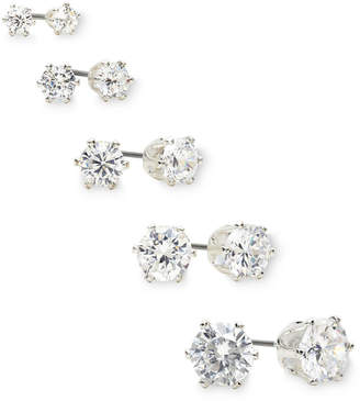 MIXIT Mixit Crystal 5-pr. Stud Earring Boxed Set