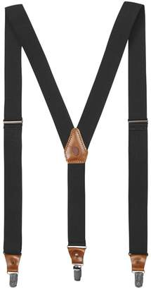 Fjallraven Singi Leather Clip/Loop Suspenders - Men's