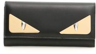 Fendi Continental Bag Bugs Wallet