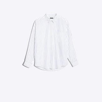 Balenciaga Striped cotton poplin shirt