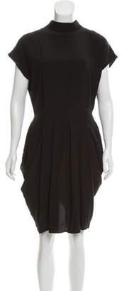 OAK Silk Knee-Length Dress