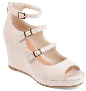 7d2c967348d4 Journee Collection Womens Skyla Wedge Sandals