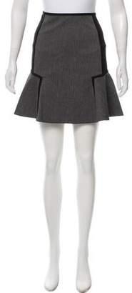 DKNY Flared Mini Skirt