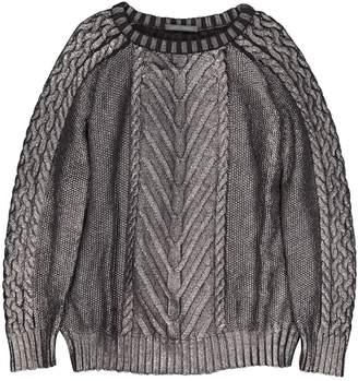 Alberta Ferretti Silver Wool Knitwear for Women