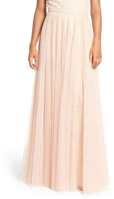 Jenny Yoo Collection Winslow Long Tulle A-Line Skirt