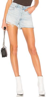 A Gold E AGOLDE Jaden High Rise Shorts