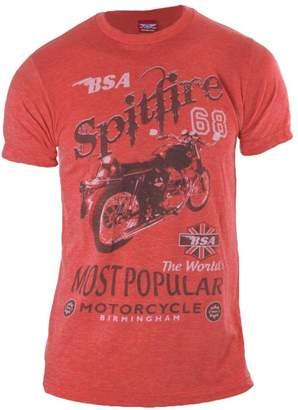 Spitfire Calhoun Sportswear BSA Motorcycles Men's T-Shirt