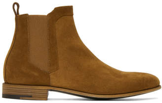 Pierre Hardy Brown Suede Drugstore Chelsea Boots