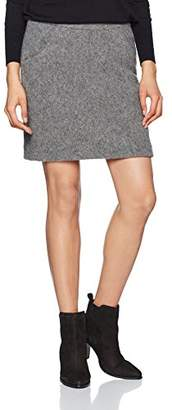 More & More Women's Rock Skirt, (Warm Grey Melange 0740)