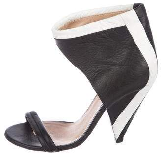 IRO Leather Ankle-Strap Sandals