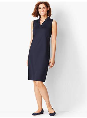 Talbots Feminine Knit Jersey Dress