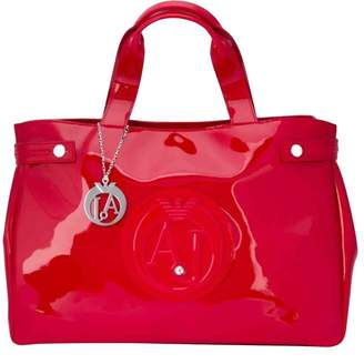 Emporio Armani Patent leather tote