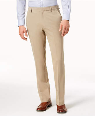 Kenneth Cole New York Men's Stretch Twill Dress Pants