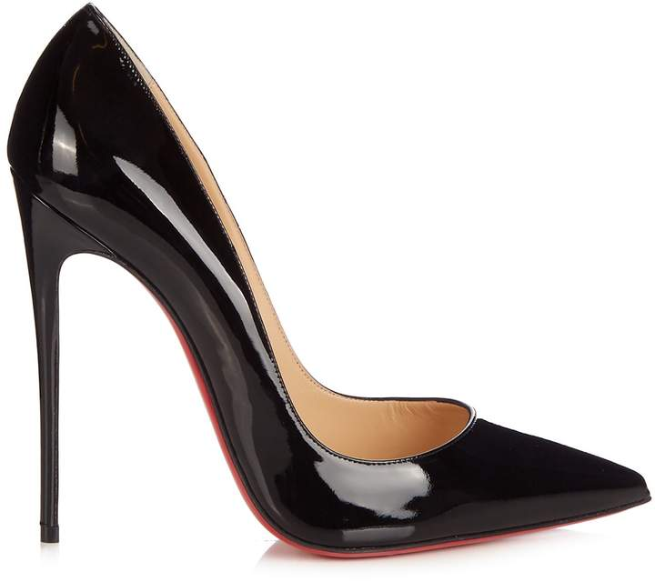 Christian Louboutin So Kate 125 patent-leather pumps