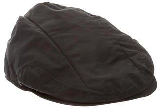 Moschino Logo Newsboy Hat