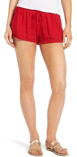 Women's Roxy Mystic Topaz Beach Shorts