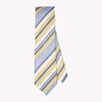 Tommy Hilfiger Slim Width Silk and Linen Tie