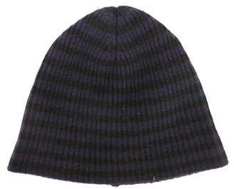 Marc Jacobs Knit Striped Beanie