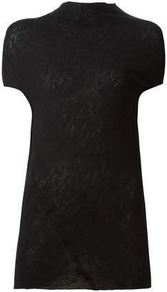 Rick Owens asymmetric knit top