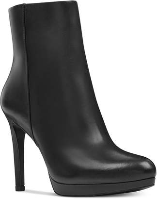 Nine West Quanette Platform Dress Booties Women Shoes