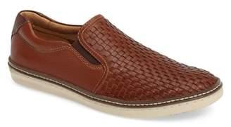 Johnston & Murphy McGuffey Woven Slip-On Sneaker
