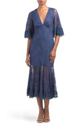 Designed In Australia Transpire Lace Dress