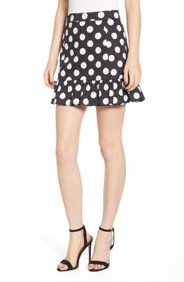 Endless Rose Polka Dot Miniskirt