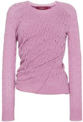 Sies Marjan Libbie crewneck sweater with twist detail