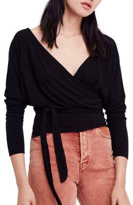 Free People East Coast Wrap Top