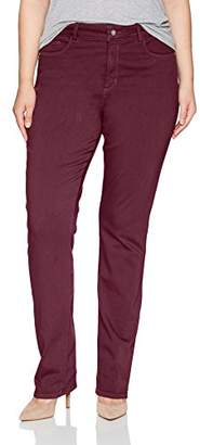 NYDJ Women's Plus Size Marilyn Straight Ankle Jean