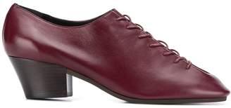 Lemaire block heel lace-up shoes